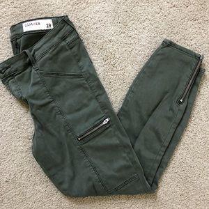 Pistola Olive Green Skinny Pants (Stitch fix)